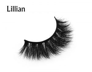 Wholesale china factory High Quality private label custom packaging 100% Real 3D mink eyelashes