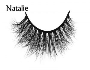 New natural false magnetic lashes 3D silk mink magnetic eyelashes