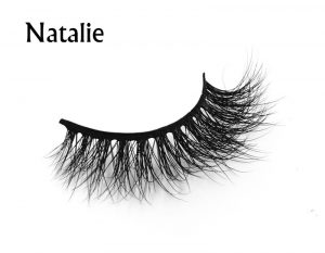 Wholesale false eyelashes good quality 100% real 3d mink fur eyelashes private label 3d mink lashes