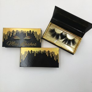 Dripping Eyelash Packaging Boxes