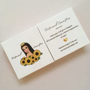 Custom Square Lashes Packaging
